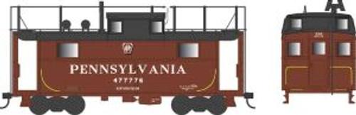 Bowser Trains 37904 N Scale N5 Caboose PRR Shadow Keystone w/Trainphone #477776