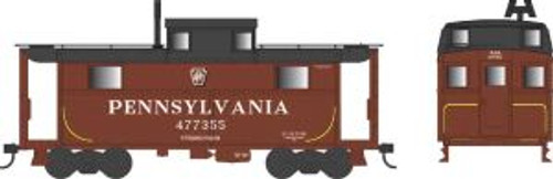 Bowser Trains 37902 N Scale N5 Caboose PRR Shadow Keystone Pittsburgh #477355