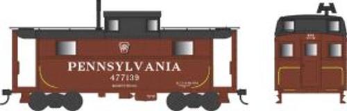 Bowser Trains 37900 N Scale N5 Caboose PRR Shadow Keystone Buckeye #477041