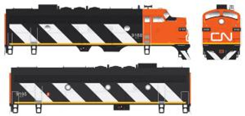 Bowser Trains 24036 HO Scale F7A Diesel CN #9168