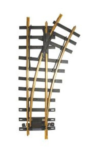 Bachmann Trains 94658 G Scale #1100 Brass RH Turnout
