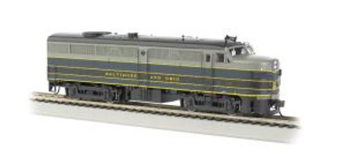 Bachmann Trains 64705 HO Scale FA-2 Diesel B&O DCC Sound