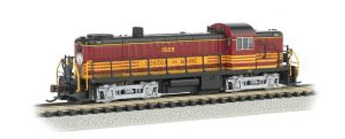Bachmann Trains 64257 N Scale RS-3 Diesel B&M #1505/DCC