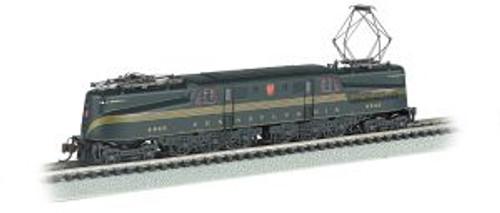 Bachmann Trains 65253 N Scale GG-1 PRR #4842 grn 5-Stripe DCC Ready