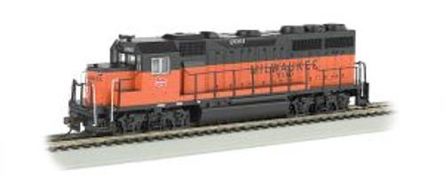 Bachmann Trains 60308 HO Scale GP40 Diesel Milw.Rd. #2001 DCC