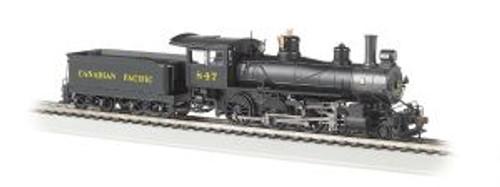 Bachmann Trains 52203 HO Scale 4-6-0 Steam Loco CP #847 DCC Ready