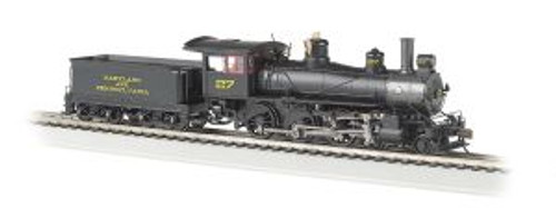 Bachmann Trains 52204 HO Scale 4-6-0 Steam Loco MA & PA #27 DCC Ready