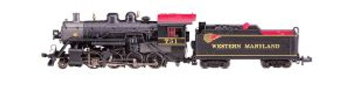 Bachmann Trains 51355 N Scale 2-8-0 Steam Loco WM #751 DCC SOUND