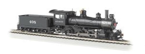 Bachmann Trains 51405 HO Scale 4-6-0 Steam Loco SF #498 DCC Sound