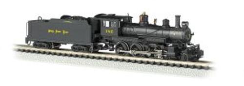 Bachmann Trains 51459 N Scale 4-6-0 Steam Loco NKP #182 DCC