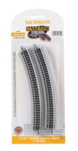 Bachmann Trains 44852 N Scale EZ Track 12.5R 6 pack