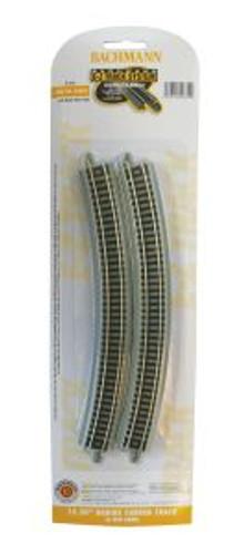 Bachmann Trains 44854 N Scale EZ Track 15.50'' R 6 pack