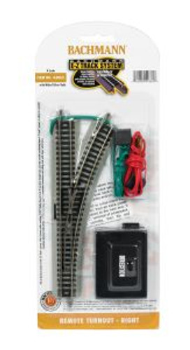 Bachmann Trains 44862 N Scale EZ Track Remote RH Switch