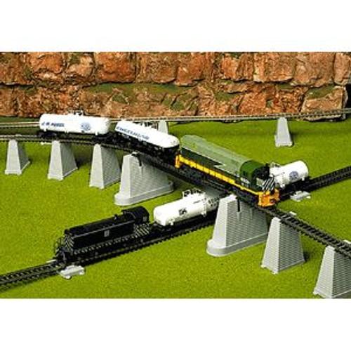 Atlas Trains 80 HO Scale Pier Set 47 piece