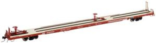 Atlas Trains 50001039 N Scale 89' Flat Car P&W #105091