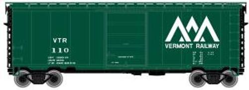 Atlas Trains 50001161 N Scale 40' PS-1 Boxcar Vermont Railway #128