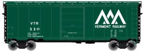 Atlas Trains 50001161 N Scale 40' PS-1 Boxcar Vermont Railway #128