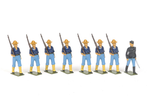 Bastion Models Toy Soldiers B1 US Marines Marching 1900
