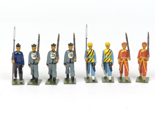 Bastion Models Toy Soldiers B15 Chinese Irregular Infantry