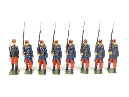 Bastion Models Toy Soldiers A17 French Line Infantry 1914