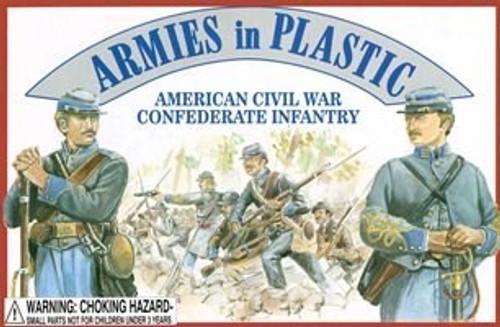 Armies in Plastic 5411 American Civil War Confederate Infantry