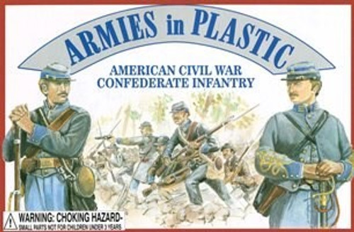 Armies in Plastic 5411 American Civil War Confederate Infantry