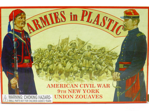 Armies in Plastic 5435 American Civil War Union Zouaves