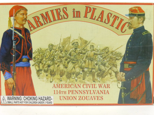 Armies in Plastic 5437 114th Pennsylvania Union Zouaves American Civil War