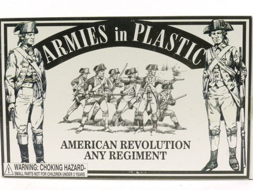 Armies in Plastic 5465 American Revolution Any Regiment