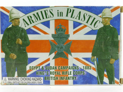Armies in Plastic 5449 Egypt & Sudan Campaigns British Infantry