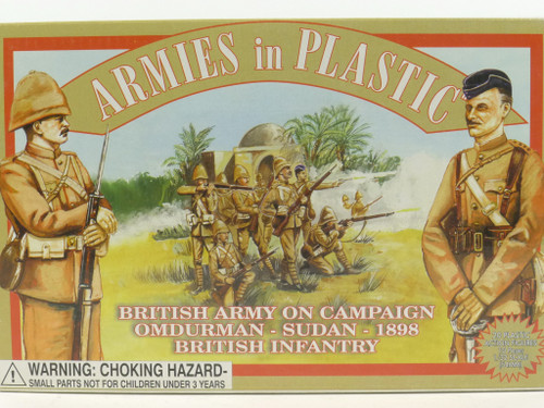 Armies in Plastic 5421 Omdurman Sudan British Infantry