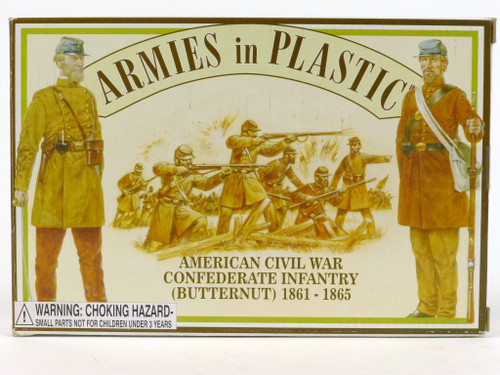 Armies in Plastic 5461 American Civil War Confederate Infantry