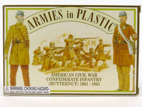 Armies in Plastic 5461 American Civil War Confederate Infantry