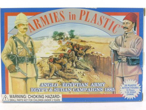 Armies in Plastic 5428 Egypt and Sudan Campaigns Anglo-Egyptian Army