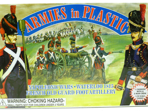 Armies in Plastic 5430 French Old Guard Foot Artillery Napoleonic Wars
