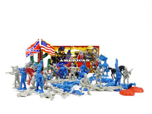 Billy V 44004 American Civil War Plastic Toy Soldier Set