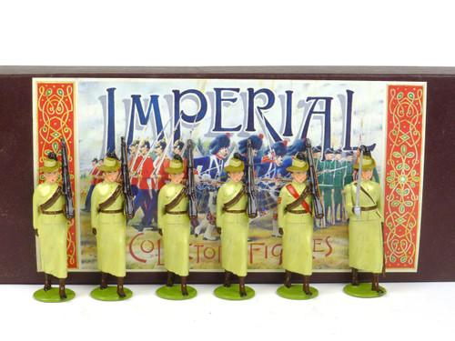 Imperial Productions Set 1 Girls Khaki Brigade New Zealand 1901