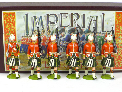 Imperial Productions Set 7 South Australian Scottish Infantry 1903