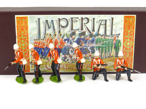 Imperial Productions Set 44 24th Foot Kneeling and Standing Zulu Wars