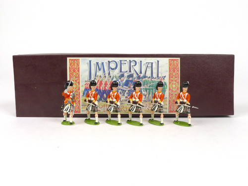 Imperial Productions Set 12c Seaforth Highlanders At The Ready 1895