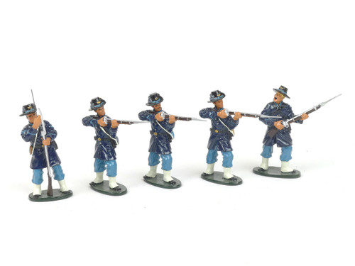 Tedtoy Miniatures TT360b Iron Brigade Standing Firing Mixed Set Union Army
