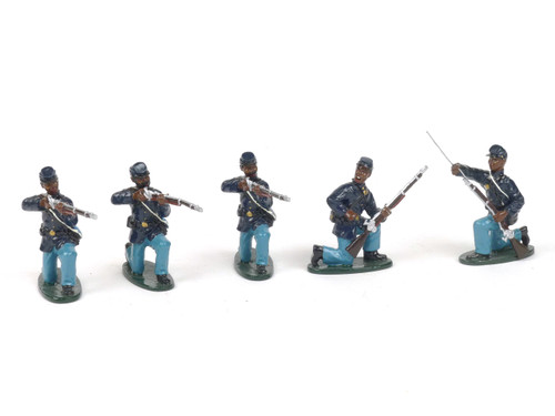 Tedtoy Miniatures TT367i 54th Massachusetts Kneeling Firing Mixed Set Union Army