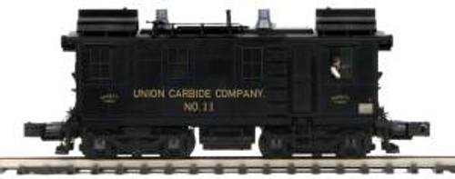 MTH Trains 20-209481 O Scale Box Cab Diesel Union Carbide #11/3.0