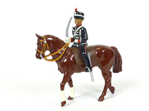 The Honourable Artillery Company Trooper Mounted in Review