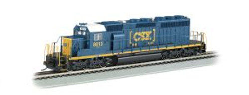 Bachmann Trains 67202 HO Scale SD40-2 Diesel CSX #8013 Dark Future DCC Sound