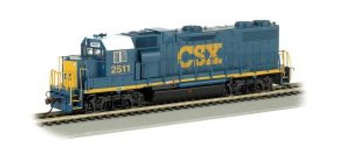 Bachmann Trains 61119 HO Scale GP38-2 Diesel CSX #2511 Dark Future DCC