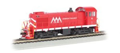 Bachmann Trains 63111 HO Scale S-4 Diesel Vermont Railway #6 DCC Ready