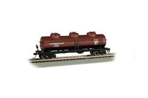 Bachmann Trains 17108 HO Scale 40' Triple Dome Tank Car PRR #498647