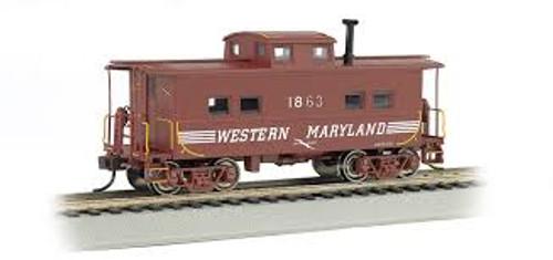 Bachmann Trains 16823 HO Scale NE Steel Caboose WM #1863/Speed Lettering