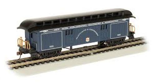 Bachmann Trains 15305 HO Scale Old-Time Baggage Car B&O Royal Blue